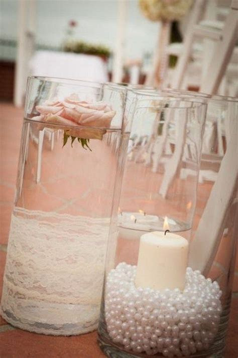 25  best ideas about Pearl centerpiece on Pinterest   Lace