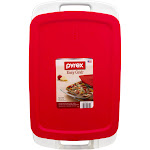 Pyrex Easy Grab Baking Dish, Glass, 3 Qt