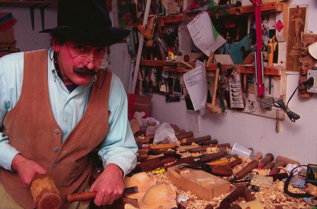O fascinante mundo de madeira de Livio De Marchi 22