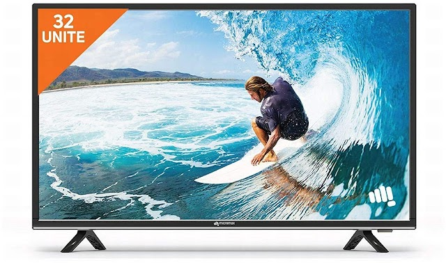 Micromax 81 cm (32 inches) LED TV (BLACK)