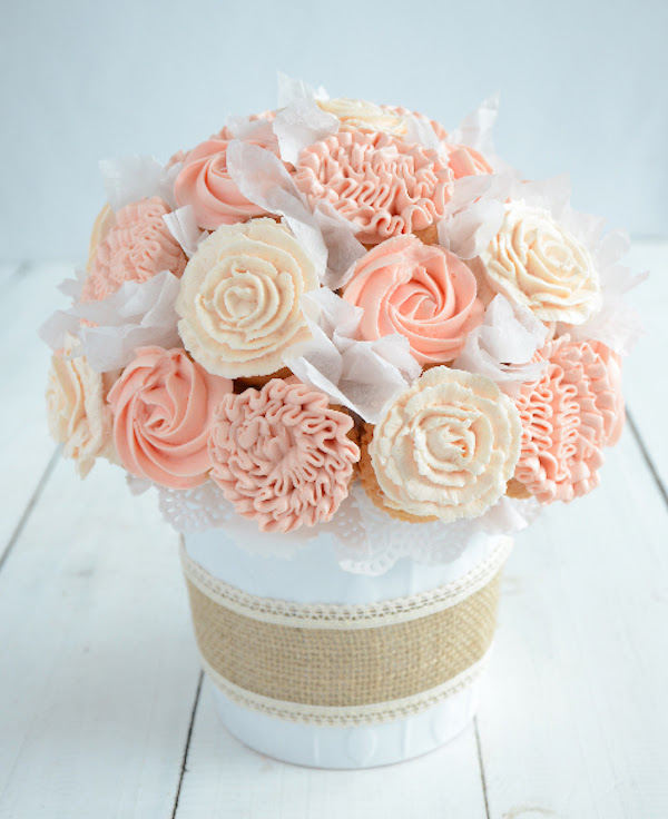 cupcake ideas mothers day bouquet