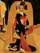 Callie as a Geisha