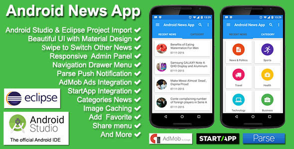 Codecanyon Android News App