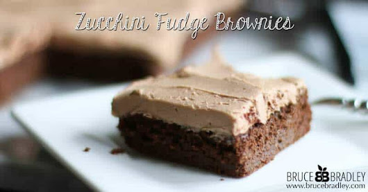 Recipe: Rich and Moist Zucchini Fudge Brownies