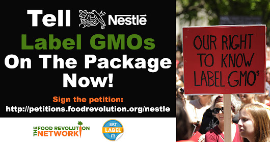 Tell Nestlé - Label GMOs on the package!