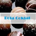 resep kue kering bola bola coklat