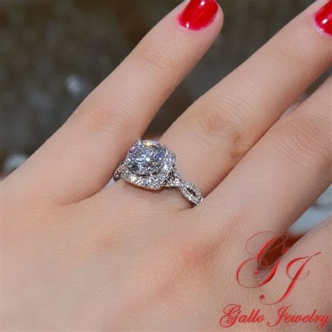 eng01235 diamond halo infinity engagement ring