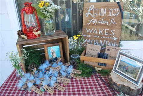 17 Best ideas about Woodsy Baby Showers on Pinterest
