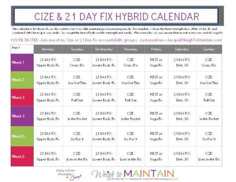 day fix schedule ideas  pinterest