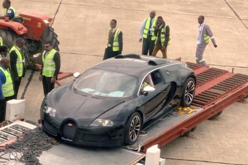 Imported Bugatti Veyron Could Be Crushed In Zambia | CarBuzz