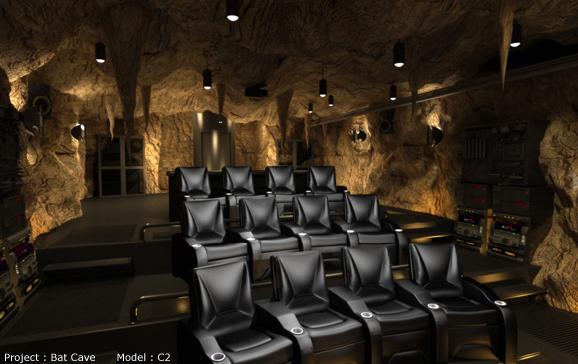 The world's best media room: The Batcave vs. The Nautilus | The Retort