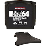 Retro-Bit Super Retro Booster Pack For Nintendo 64 System