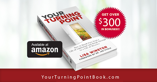 Your Turning Point Book Inspirational Book by Lisa Winston