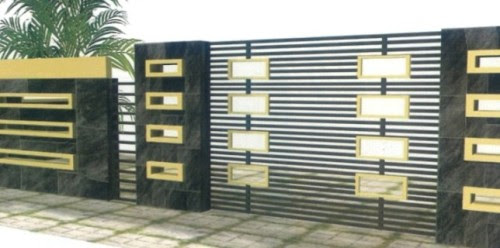 12 Desain Pagar Rumah Minimalis Terbaru