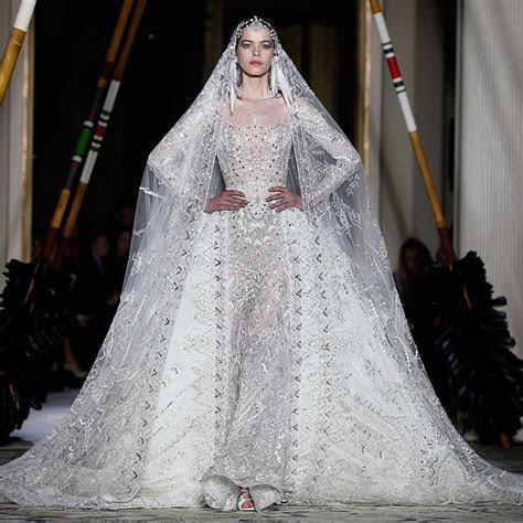 Wedding dresses from Paris Haute Couture: Designer bridal