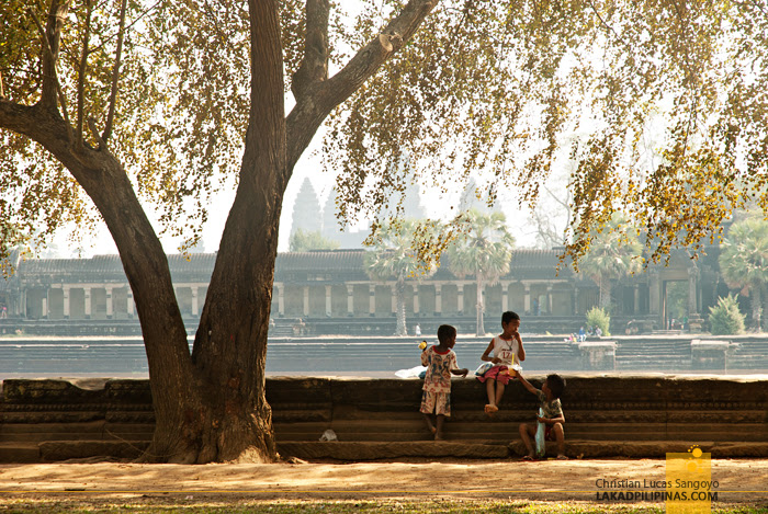 Mornings at Angkor Wat