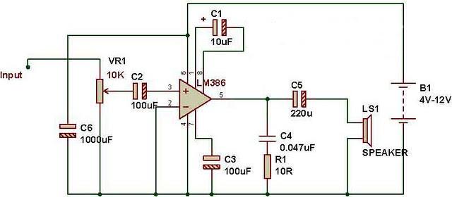fm receiver circuit diagram using ic