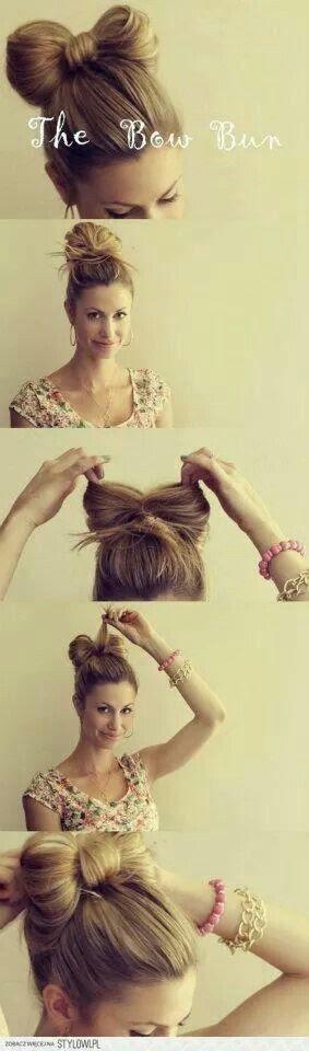 kolay saç modeli