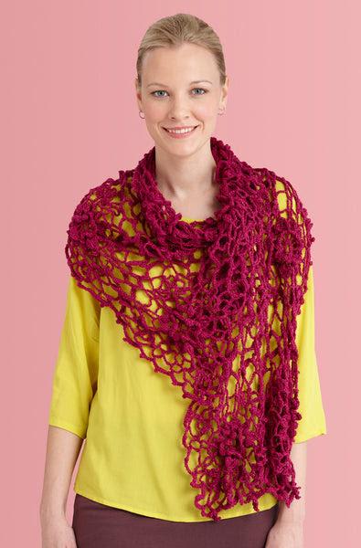 Irish Crochet Shawl Free Pattern Download