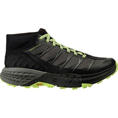 hoka   speedgoat mid wp trail run shoe mens backcountrycom