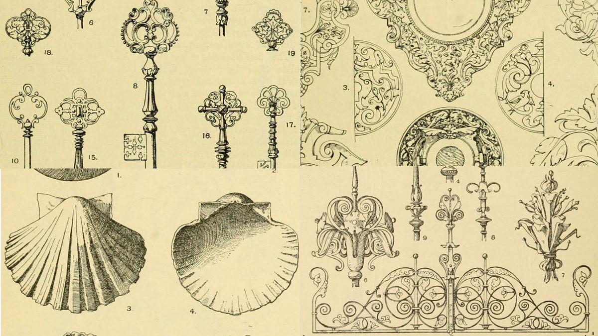 無料ダウンロード商用利用もokなクラシカルな装飾を集めたhandbook