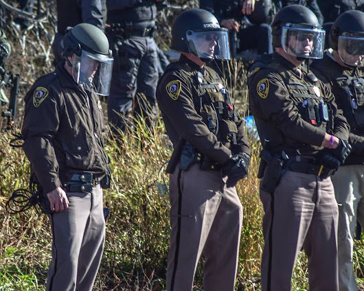 2 Police Officers Turn In Badges In Support Of Standing Rock Water Protectors