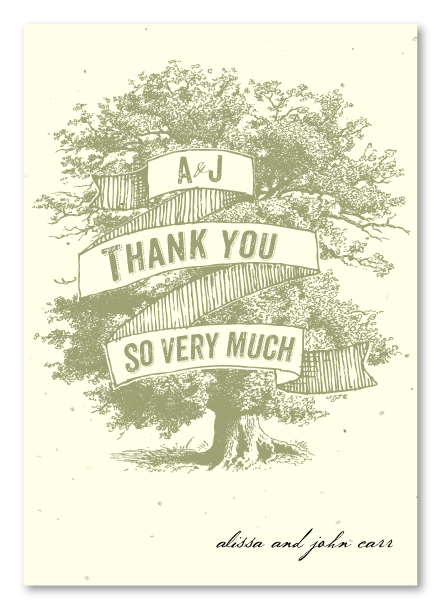 Southern Charm Thank You cards
