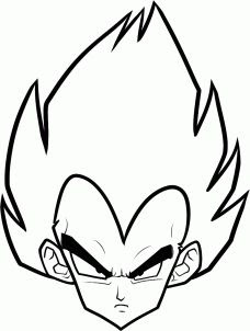 Dragon Ball Z Characters Drawings Easy