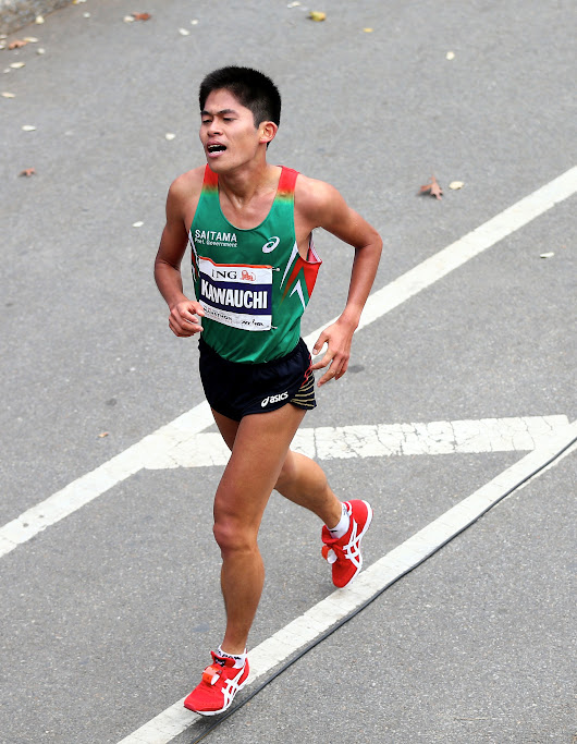 How This Working Man Became Japan's Most Controversial Marathoner
