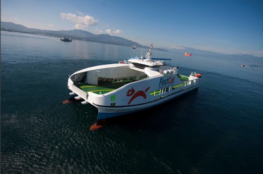The Ferry is ready – Tomorrow Camiguin Fast Cat becomes true