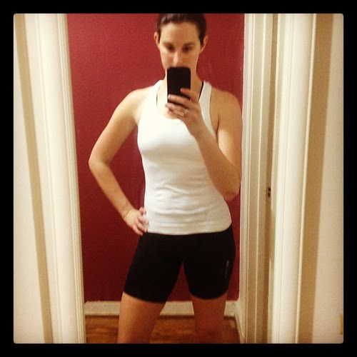 Bike shorts make all the difference in the world! #proof #fitfluential