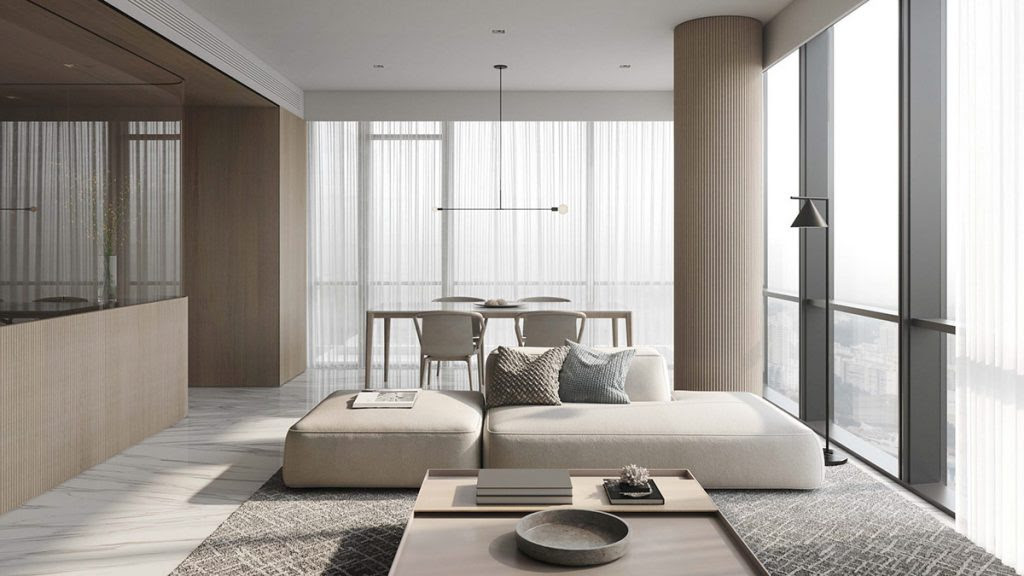 Neutral, Modern-Minimalist Interior Design: 4 Examples ...