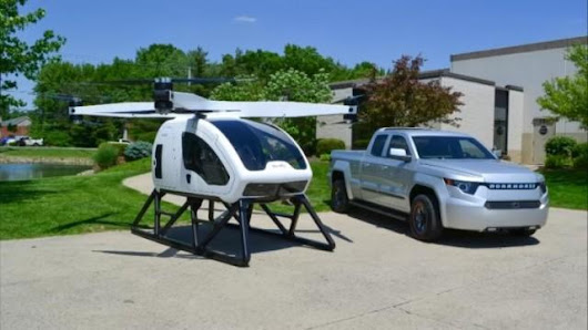 "Huge Two-Seater ""Drone"" aims to reinvent the Helicopter #future #technology #..."