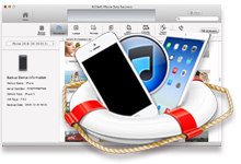 Mac iPhone Data Recovery, Rescue data from iOS, iPhone, iPad on Mac.