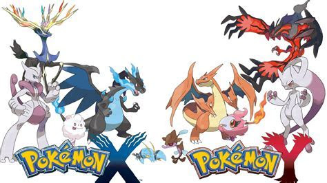 Pokemon X And Y Differences Wallpaper