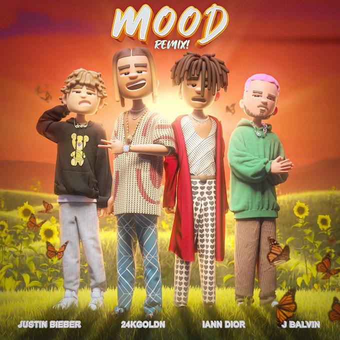 24kGoldn, Justin Bieber, J Balvin & iann dior - Mood (Remix) (Clean / Explicit) - Single [iTunes Plus AAC M4A]