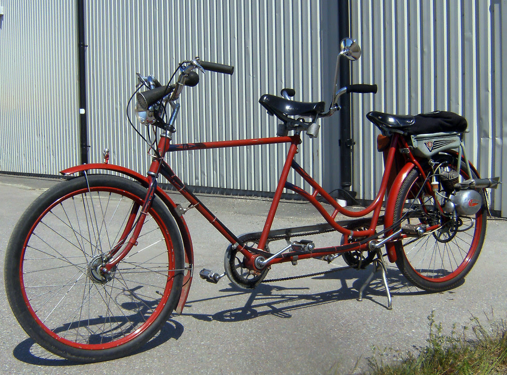 Tandem Bike with Help Engine