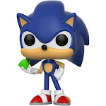 Funko Pop! Games: Sonic - Sonic with Emerald Vinyl Figure