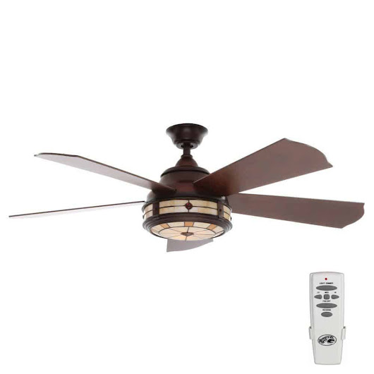 Savona 52 in. Indoor Weathered Bronze Ceiling Fan | Hampton Bay Ceiling Fans Lighting & Patio Furniture Outlet