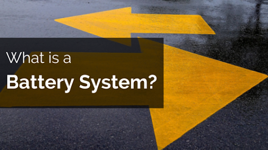 What is a battery system?