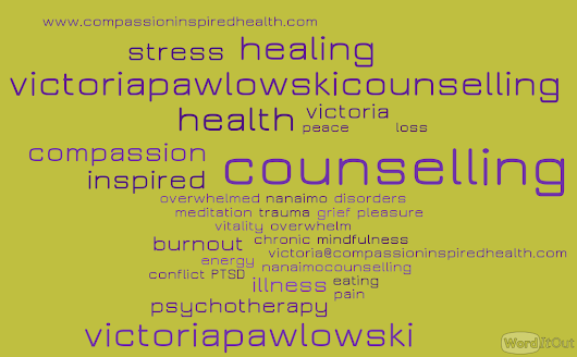 Nanaimo Counselling & Psychotherapy - Centre for Compassion Inspired Health