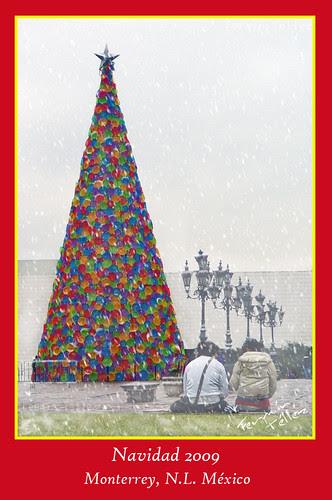 Pino de Navidad 2009