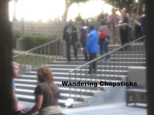 Dr. Conrad Murray Michael Jackson Trial Media Circus - Los Angeles County Superior Court 5