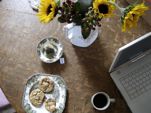 tea + cookies