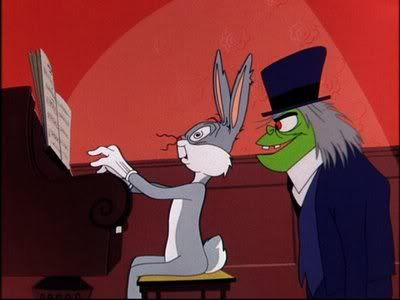 Bugs Bunny and Mr. Hyde