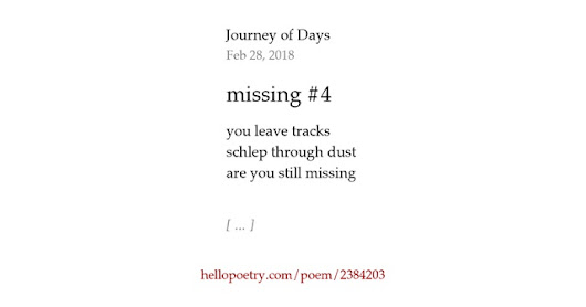 missing #4 by Journey of Days