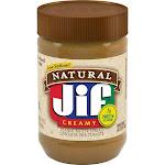 Jif Natural Low Sodium Creamy Peanut Butter - 16oz
