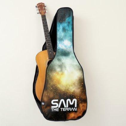 Monogram. You The Terran. Galaxy. Funny Gift. Guitar Case