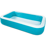 Summer Waves 10ft x 6ft x 22in Deluxe Inflatable Backyard Kiddie Splash Pool by VM Express