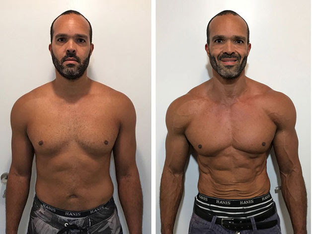 This man dropped 6kgs and halved his body fat percentage ...
